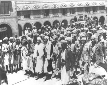 اللقاءات مع مشائخ القبائل اليمنية لتوحيد الصفوف ومواجهة أعداء الثورة 1967م