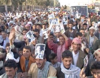 فرحة الجماهير المحتشدة لاستقبال الشيخ عبد الله لا توصف