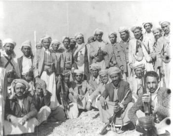 الشيخ عبد الله في ميادين الدفاع عن الثورة والجمهورية مع قبائل اليمن الشماء 1969م