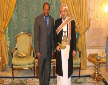 صور الشيخ صادق أثناء توديع السفير الموريتاني بصنعاء 18-3-2009م