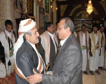 الشيخ صادق يستقبل المهنئين - عيد الأضحى المبارك 1431هـ